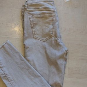 Free People Raw Hem, Button Fly Capris